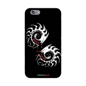HomeSoGood Sharp Shining Weapon Black Case For iPhone 6 (Back Cover)