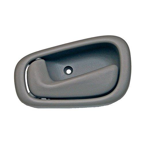 1998-2002 CHEVY PRIZM LH Left Hand Gray Drivers Inside Door Handle 1999 2000 2001 Chevrolet Prism Driver Indoor Han 98 99 00 01 02 Grey