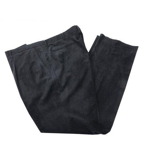 【大きいサイズ】【INTERMEZZO】インターメッツォ 「サミアソフィ」デザインスラックスパンツ(ワンタック) 黒 size 120