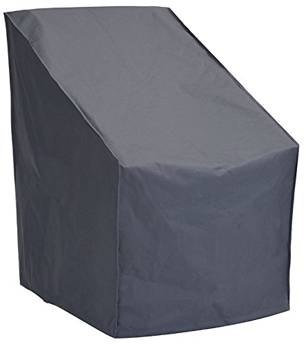 Patio Watcher Patio Chair Cover All Weather Protective Patio Furniture Cover High Back Outdoor Chair Cover(Grey)