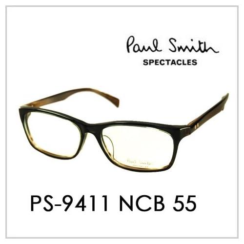 PAUL SMITH ポールスミス  メガネフレーム サングラス 伊達メガネ 眼鏡 PS-9411 NCB 55 PAUL SMITH専用ケース付 スペクタクルズ