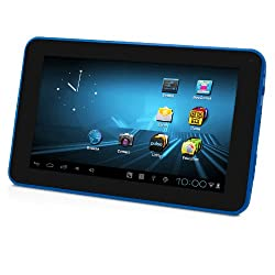 D2 7-Inch Android 4.0/ 4GB/512MB DDR3/16:9 Capacitive Multi-Touch Widescreen Internet Tablet -Blue
