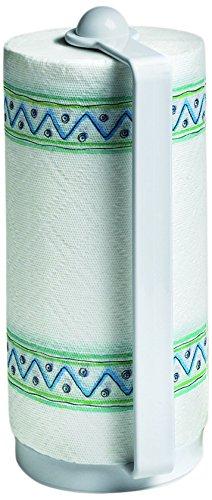 Spectrum 40300 Portable Paper Towel Holder, White