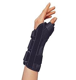OTC Lightweight Breathable Wrist/Thumb Splint, Left, Large
