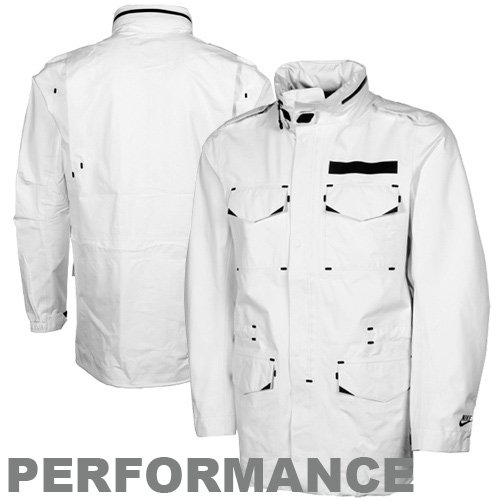 Nike -  Giacca - Uomo Bianco bianco M