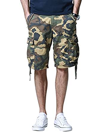 Match Men's Retro Cargo Shorts #3501(US28 (Label Size S/29),3501 Max)
