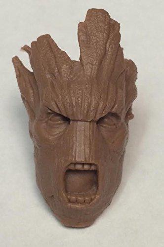 Marvel Legends GoTG Guardians Of The Galaxy GROOT Head Custom Sculpt 1:12 Scale
