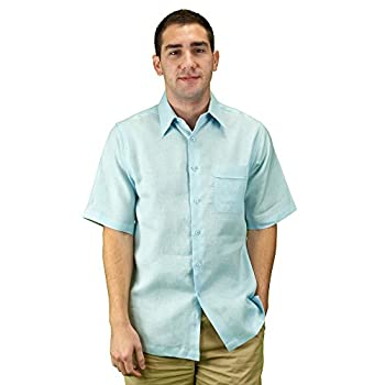 Mens linen summer wear shirt.