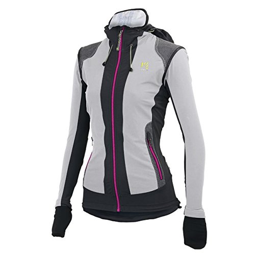 Karpos-ceve Dale-Giacca da donna/gilet. Tecnici sci alpinismo giacca con maniche rimovibili Light Grey/Dark Grey L