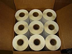 12 Rolls of 1375 2x1 Direct Thermal Labels Zebra 2824 Eltron 2844 printers