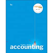 VangoNotes for Accounting, 7/e  by Charles T. Horngren, Walter T. Harrison Jr.