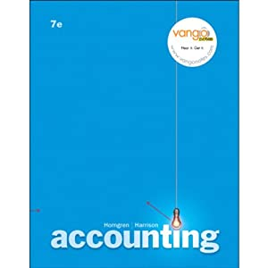 VangoNotes for Accounting, 7/e | [Charles T. Horngren, Walter T. Harrison Jr.]