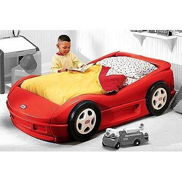 Little Tikes Roadster Toddler Bed & Mattress