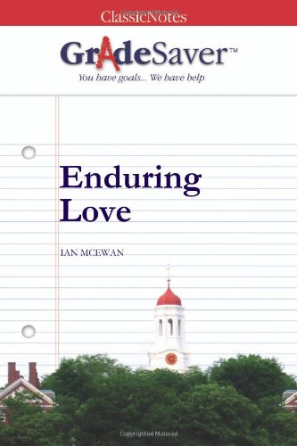 enduring love an analysis Joe-clarissa-jed-enduring love  joe is a rationalist as he analyses human  behavior by reason and dislikes  although science is still his first love joe is.