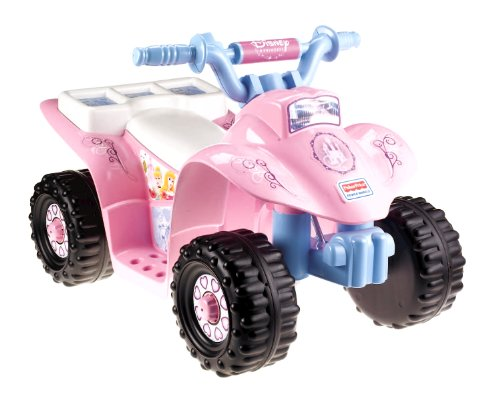 Fisher-Price Power Wheels Disney Princess Lil' Quad