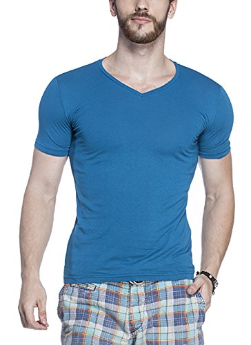 Tinted-Mens-Cotton-Lycra-T-Shirt