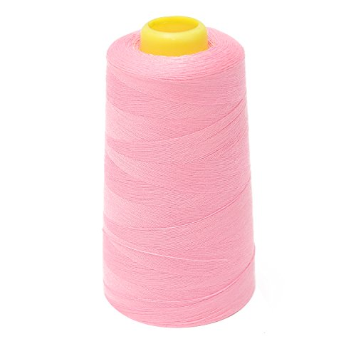 Sewing Thread Cone Polyester Spool -- Heavy Duty for Sewing Machine Quilting 3000 Yard (2743 meter) -- Yazycraft (Serger Cotton Thread compare prices)