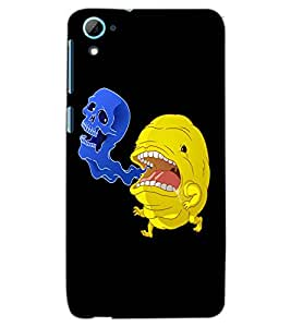HTC ONE M7 CARTOONS Back Cover by PRINTSWAG