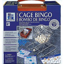 Pavilion Games: Deluxe Wood Bingo Set Game