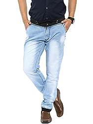 Showoff Men's Slim Fit Casual Denim Jogger Jeans