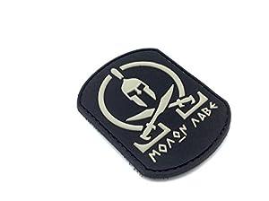 Molon Labe Velcro Airsoft PVC Patch Noir