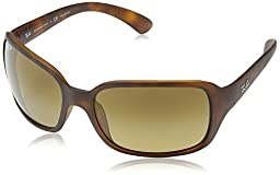 Ray-Ban 4068 6202M2 Tortoise 4068 Square Sunglasses Polarised Lens Category 3 L