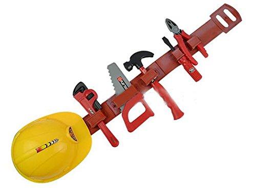 Brigamo 509 - Kinder Werkzeuggürtel mit Bauhelm für Kinder und...