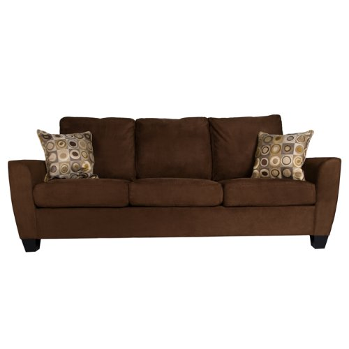 Brown Microfiber Throw Pillows : Sleeper Sofa Online Stores: March 2012