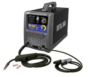 Metal Man M190 190 Amp 230-Volt MIG Wire Feed Welder by Metal Man