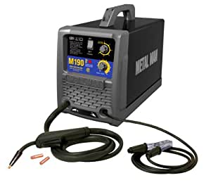 Metal Man M190 190 Amp 230-Volt MIG Wire Feed Welder