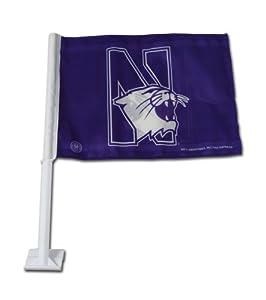Buy NCAA Northwestern Wildcats Car Flag by Rico