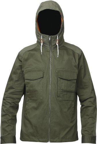ANALOG imperial - Giacca, uomo, Verde (Esercito), S