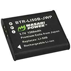Wasabi Power Battery for Pentax D-LI92 and Pentax Optio I-10 RZ10 RZ18 WG-1 WG-1 GPS WG-2 WG-2 GPS X70
