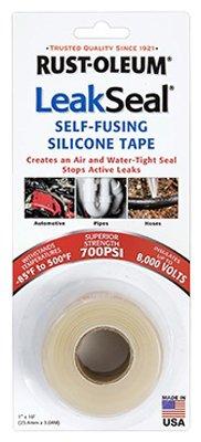 RUST-OLEUM - 1x3.3YD CLR Repair Tape (Rustoleum Leak Seal Tape compare prices)