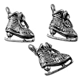 10x Tibetan Style Pendants, Lead Free, Shose, Antique Silver, 10.5mm long, 10mm wide, 5mm thick, hole: 1.5mm