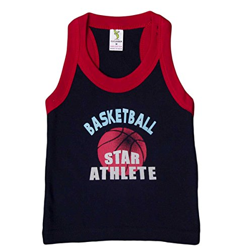 Cucumber Cucumber Star Athlete T-Shirt Black 18-24 Months (Multicolor)