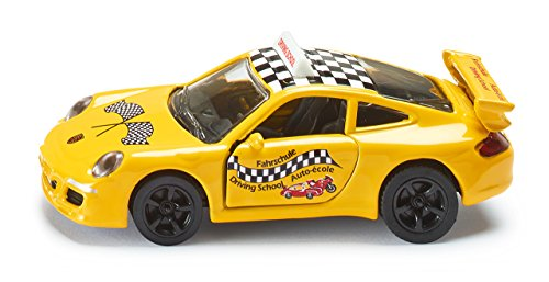 Siku Porsche 911 Driving School Miniature Replica Model Car Vehicle Collectors - 1