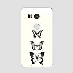 Back cover for Nexus 5X Butterfly