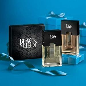 Avon Black Suede Geschenkset EDT Spray und Aftershave 75 ml