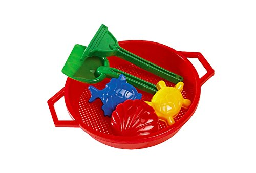 Androni Sand Sifter and Beach Toy Set (6-Piece) - 1