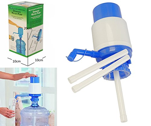 CYBERCITY MARKETING Krevia Deals Hand Press Manual Pump Dispenser For Bottled Drinking Water and Multi uses in Picnic & Home