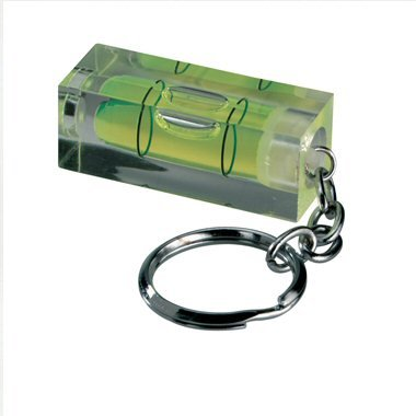 Ex-Pro Keychain Spirit Level, Mini Version great for Home, Office & work. Excellent Gadget Gift.