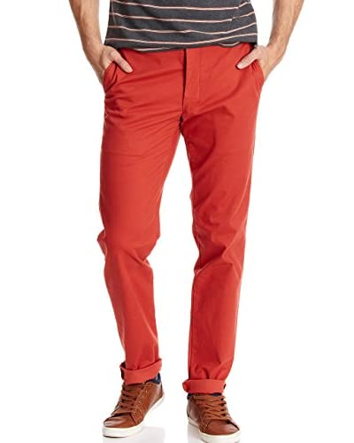 Dockers Pantalón Alpha Khaki Fillmore - Slim Tapered Rojo