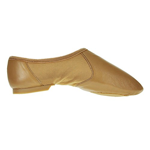 Starlite Tan Hyper Facile Slip On 11s scarpe in pelle Jazz