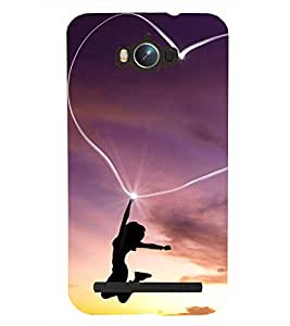 Kingcase Printed Back Case Cover For Asus Zenfone Max ZC550KL - Multicolor