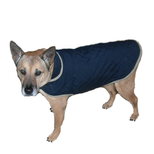 Advance Pet Products Nanotex Dog  Coats, 22-Inch, Blue