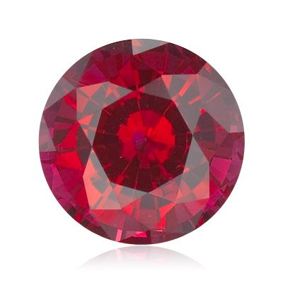 1.04 Cts of 6 mm AA Round Sabrina Created Ruby