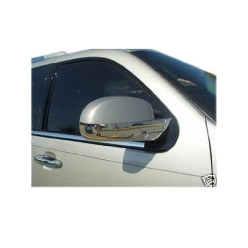 Chevy Avalanche Tahoe Suburban Silverado GMC Yukon Sierra Chrome Mirror Covers 2007 2012 Lower Covers