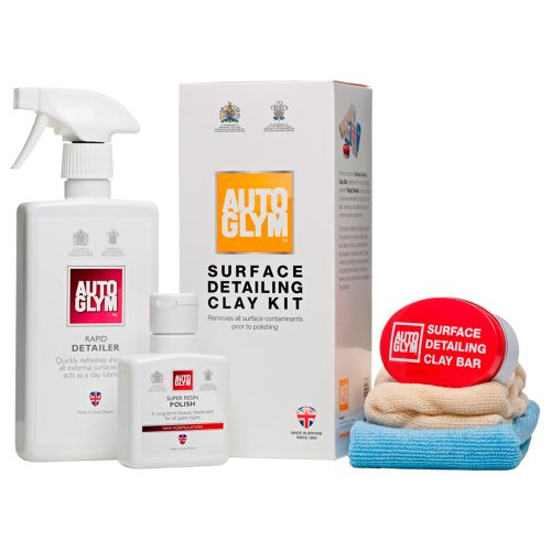 Autoglym Surface Detailing Clay Kit (5 Pieces)
