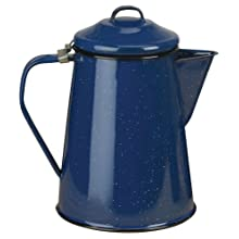 Stansport Enamel 3-Quart Coffee Boiler/Server, Royal Blue